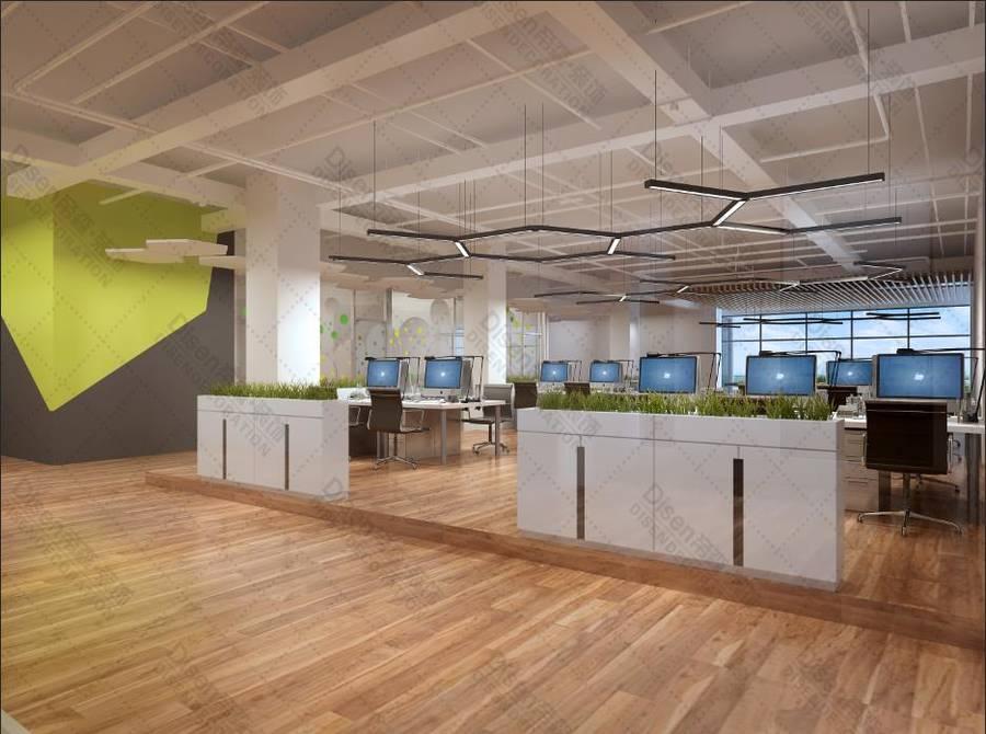 【乐至县电子商务服务中心办公室】-南京办公室设计 南京办公室装修