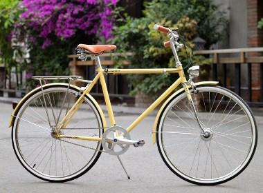 新款tsunami复古自行车