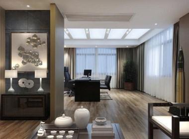 郑州绿地原盛国际,办公空间设计,办公室设计布局