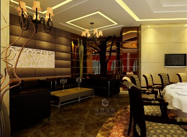 丰禾银座酒楼2丨成都专业餐厅设计丨餐厅装修丨筑格装饰