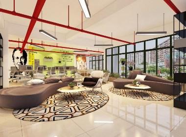 郑州凯利大厦 ,办公空间设计,办公室设计说明