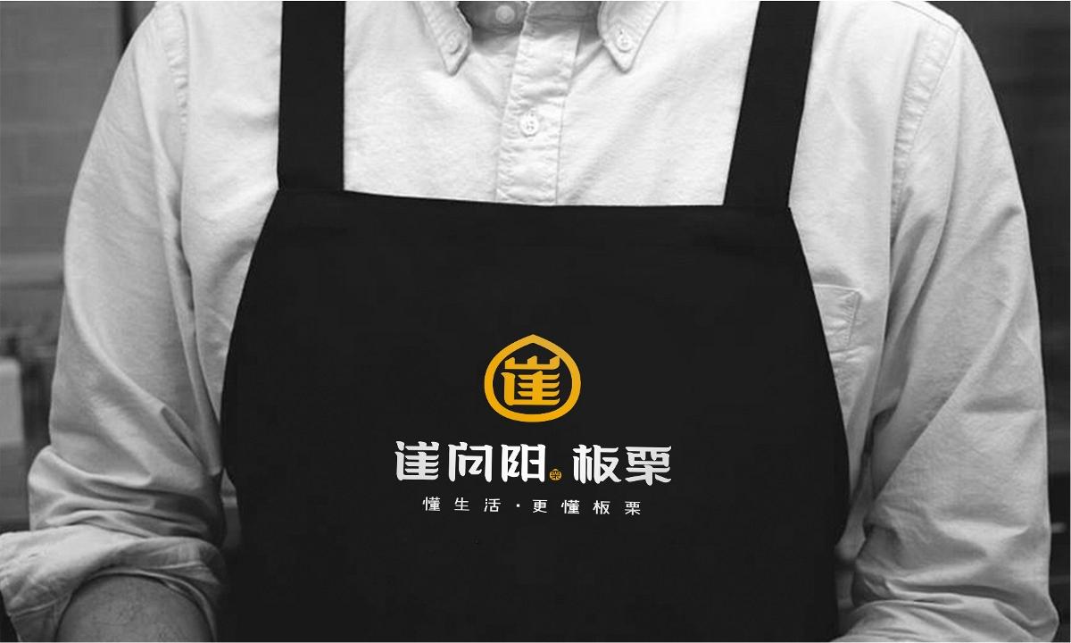 崔向阳板栗 品牌形象设计