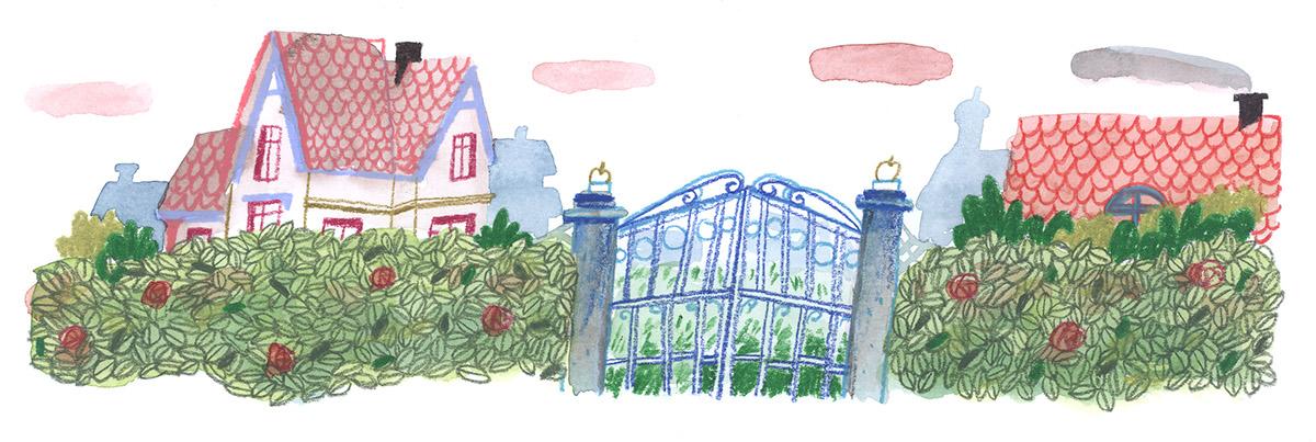 巴黎插画师作品欣赏
