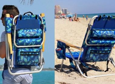 折叠沙滩椅