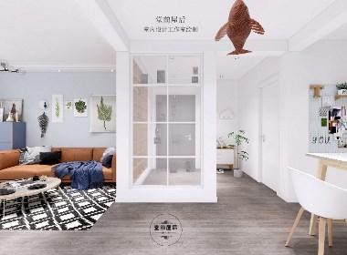 90平米小两室