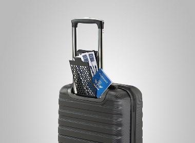 秘密藏匿文件的行李箱
