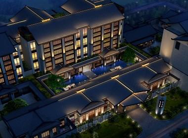 上海酒店设计公司|重庆予与鱼精品度假酒店