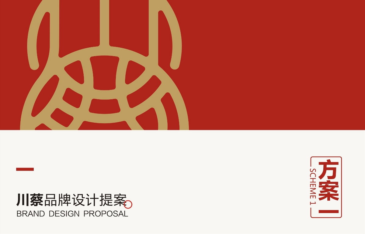 川蔡品牌设计提案部分