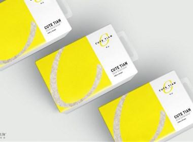 CUTE TIAN 大米品牌设计|美御
