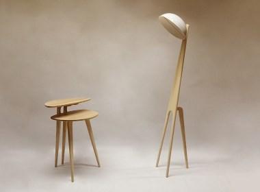 桌子与灯|俏皮与简约的结合