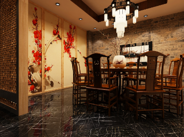 【陶然居中餐廳設計】甘肅特色餐廳設計|甘肅專業餐廳