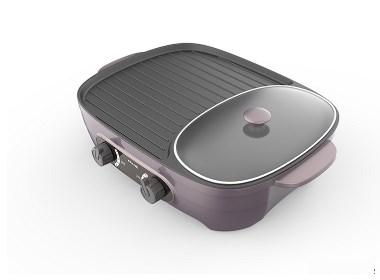 电热锅也能做到多元化烹调,德腾工业设计