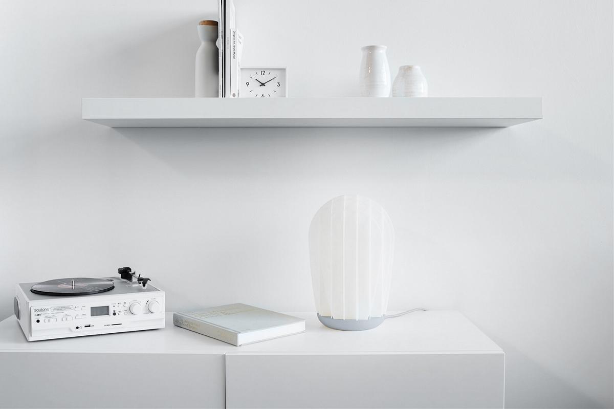 扇形桌面灯具设计