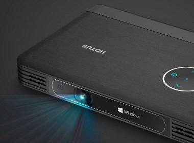 产品设计-Windows电脑投影仪(无屏电脑)-深圳工业设计公司