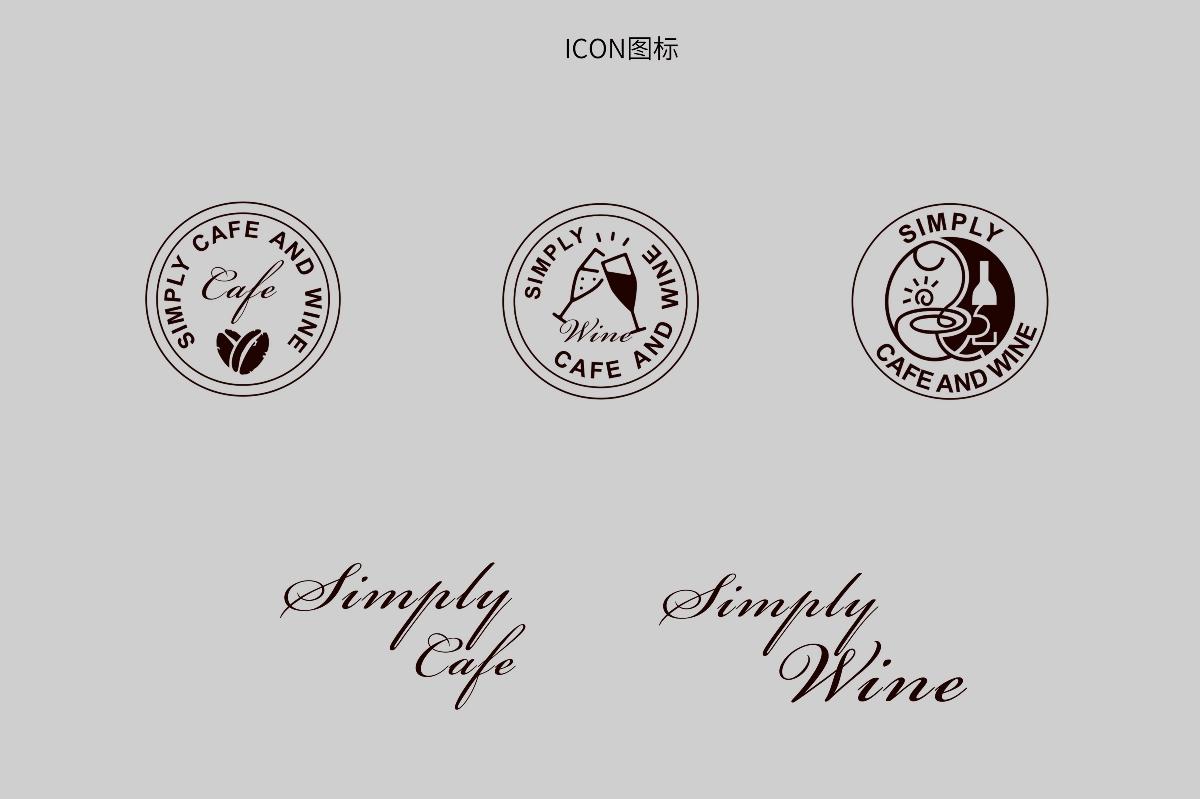 齐发国际娱乐【素描网】_餐饮作品 | 纯粹咖啡馆品牌设计