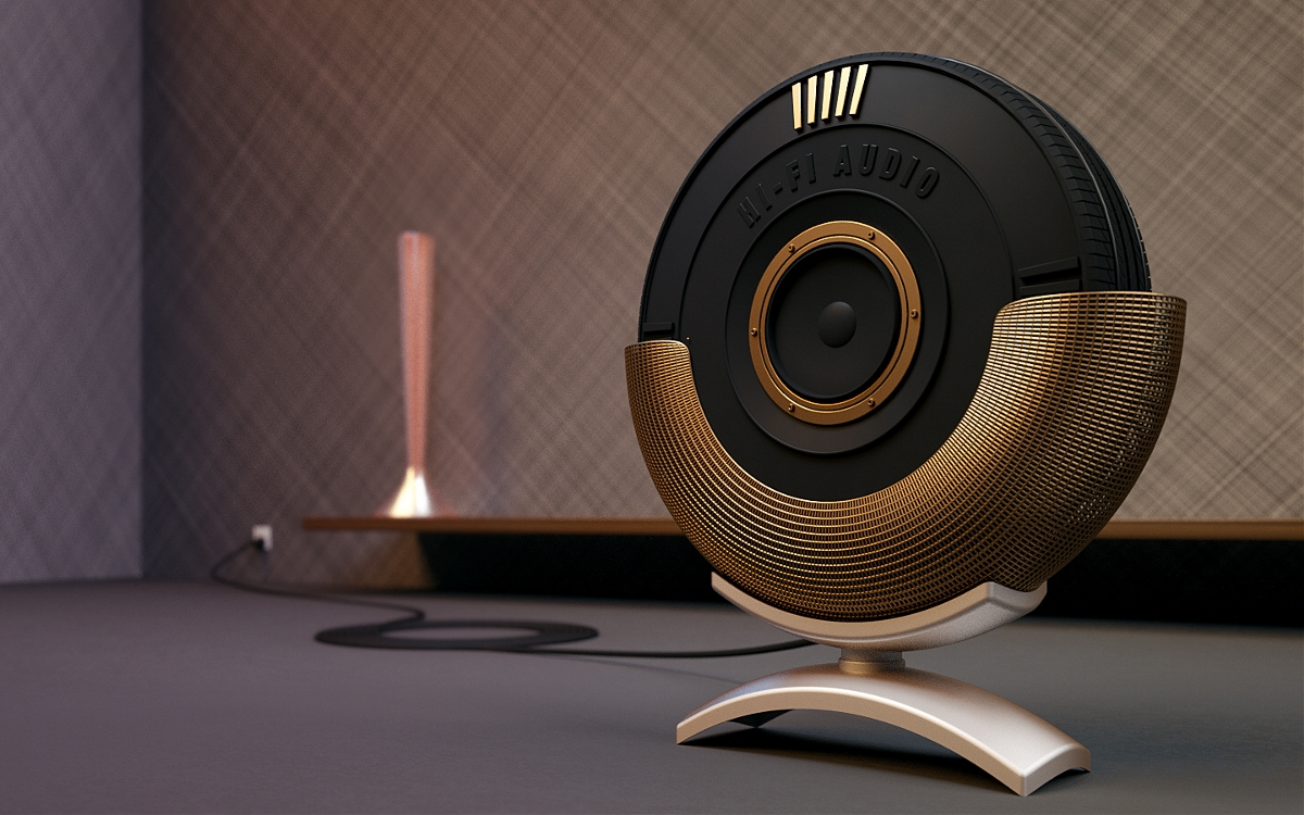 轮胎音响—产品设计欣赏