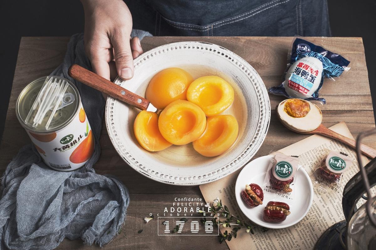 水果罐头#美食拍摄「1706.」