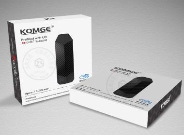 一次性电子烟彩盒包装设计 - 致一包装设计公司作品
