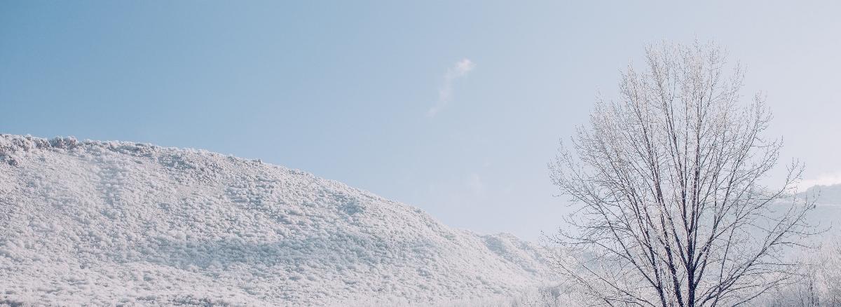 千山暮雪—人像摄影