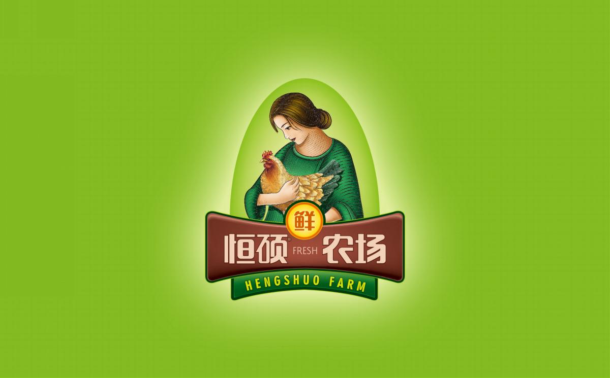 恒硕农场递1时间 鲜鸡蛋——徐桂亮品牌设计