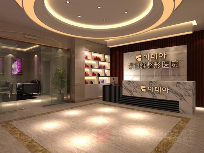 重庆整形美容医院装修设计效果图「重庆观景装饰」