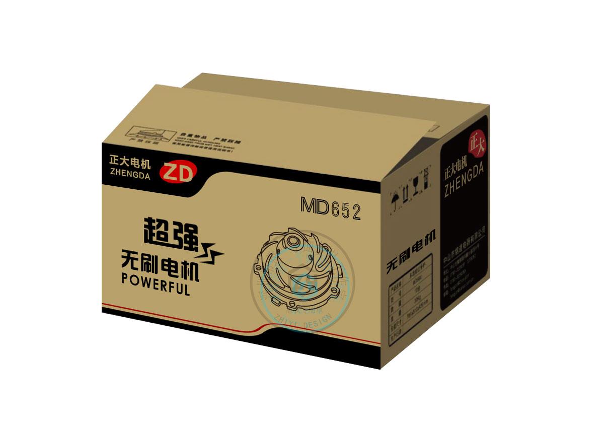 电器外箱包装设计 - 致一包装设计公司作品
