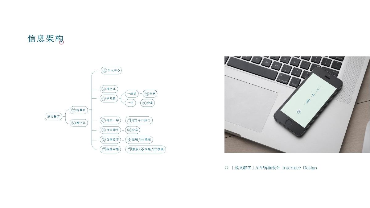 「说文解字」APP界面设计交互视频