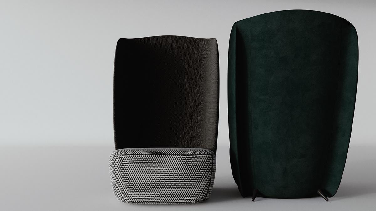 单人沙发产品设计