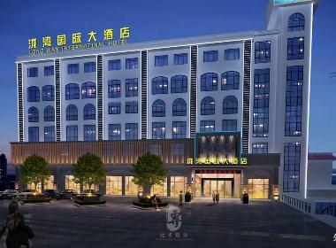 武汉酒店设计公司|雅安泷湾国际大酒店