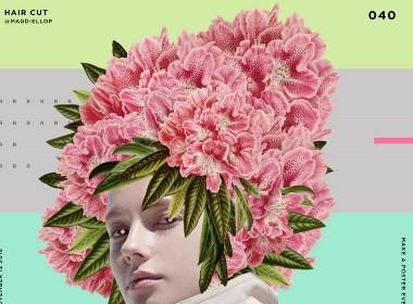 花季少女与她的花圈