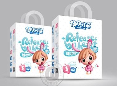 伊贝可亲纸尿裤_微商品牌策划设计_品牌包装策划-恩加策划设计