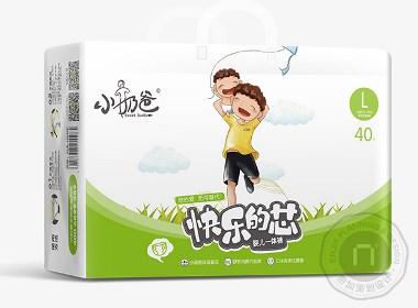 小奶爸_母婴用品包装设计_微商品牌策划设计-泉州包装设计公司