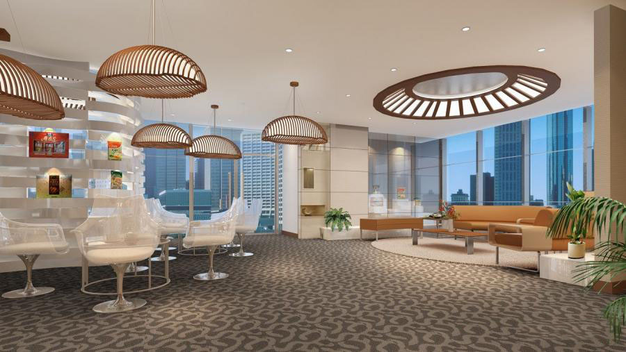 鄭州辦公室設計_辦公室裝修設計_創意辦公空間
