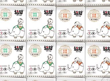 福婴纸尿裤_婴儿纸尿裤包装设计-泉州恩加品牌策划包装设计公司