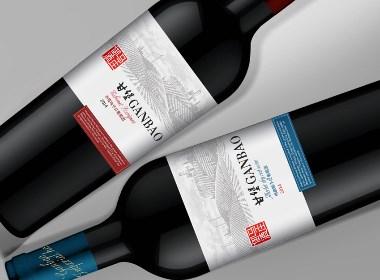 红酒包装设计,葡萄酒包装设计,红酒标签设计,红酒品牌设计