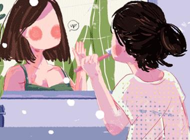 日常温暖 —插画欣赏