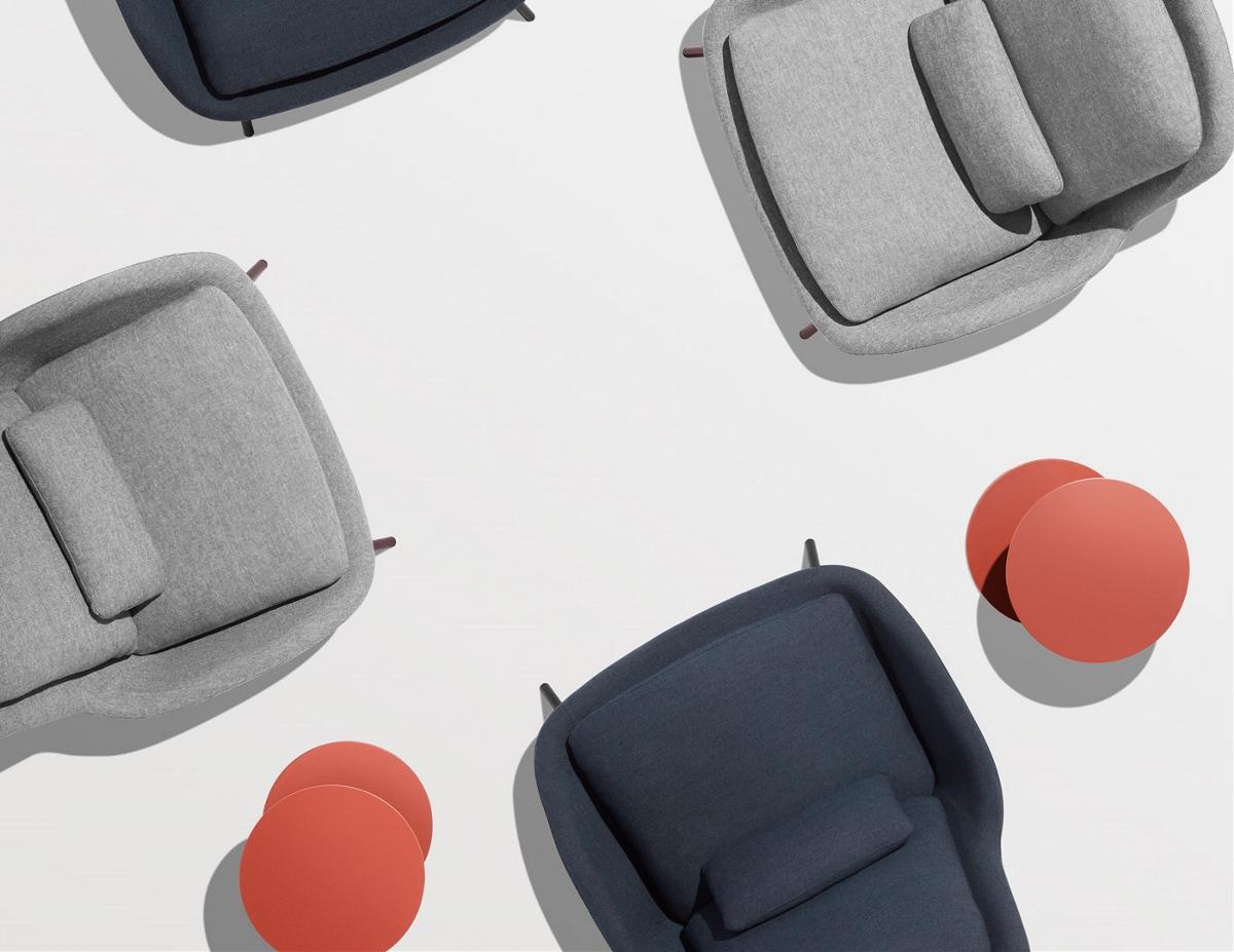 流线型小沙发