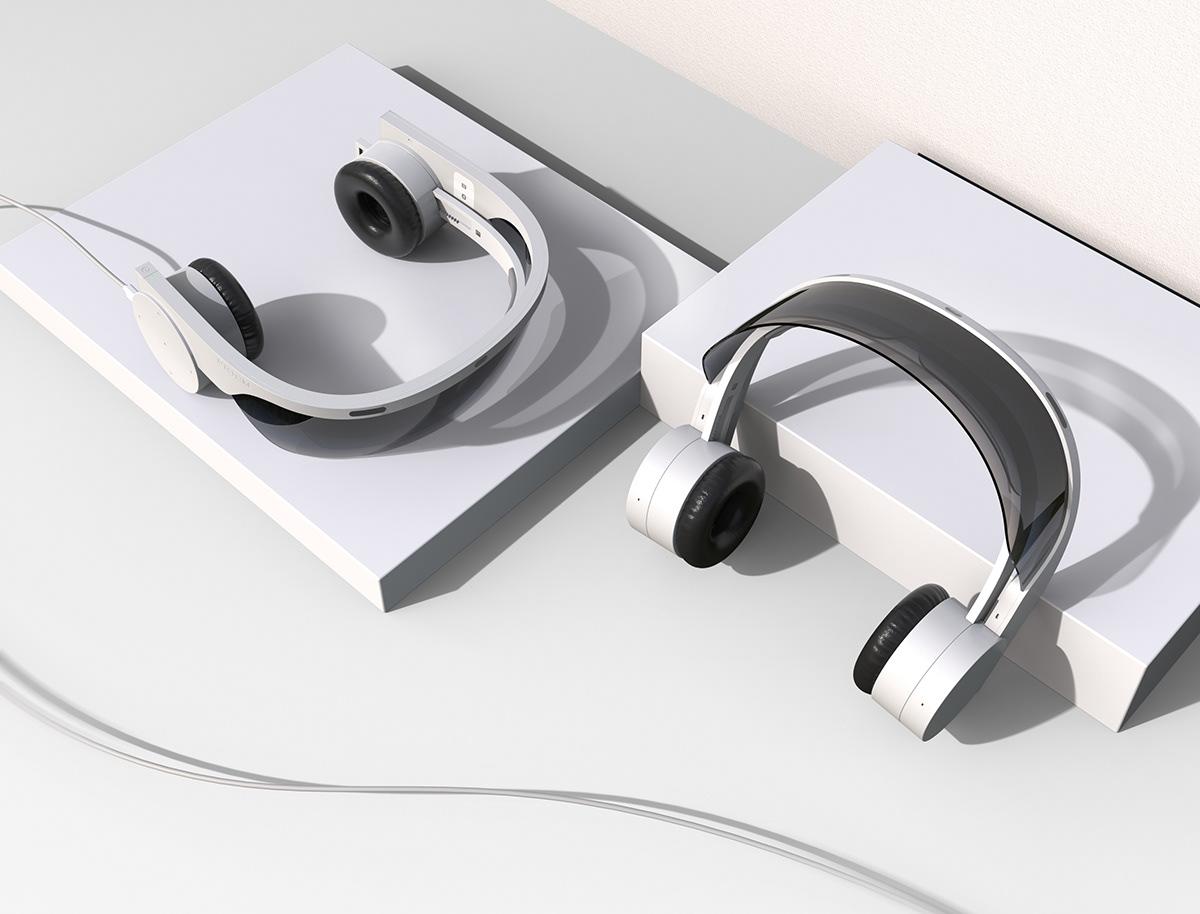 头戴式耳机设计