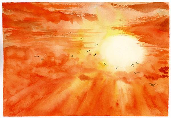 红葫芦—插画欣赏