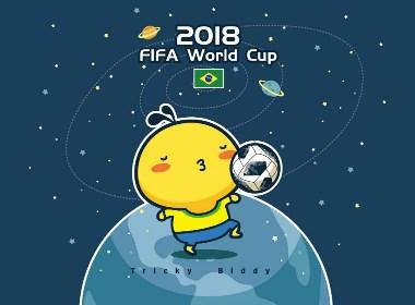 油爆叽丁世界杯手机电脑壁纸