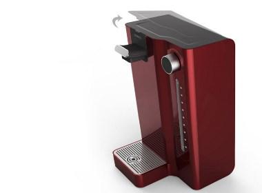 德腾小编带你欣赏饮水机设计经典案例