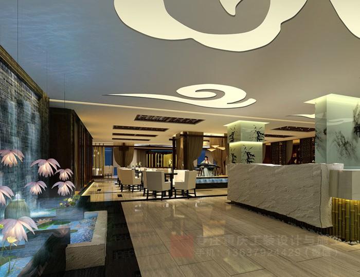 重庆茶楼装修设计效果图|重庆麻将馆装修公司「重庆指尖装饰」