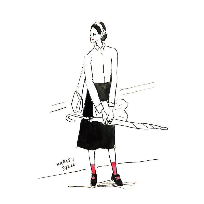 时尚插画欣赏