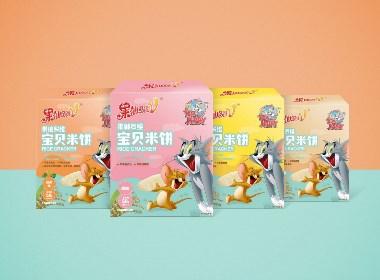 儿童米饼包装设计