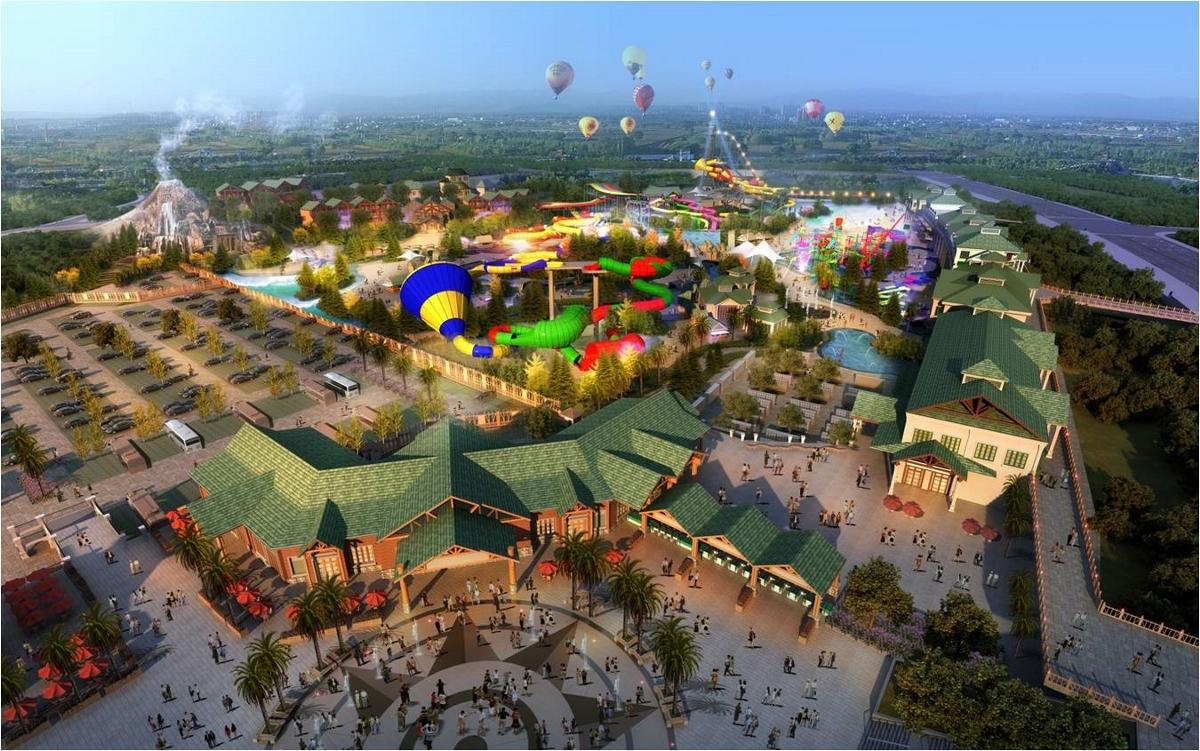 重庆主题公园规划/重庆主题公园整体规划/重庆主题公园规划设计