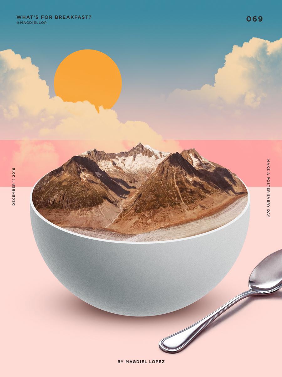 色彩造就风景与食物