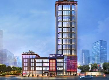 红专星级酒店设计|江安上沅国际酒店