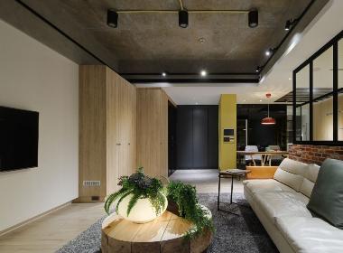 36㎡ 台北市内湖区现代风格公寓--欧模网设计头条
