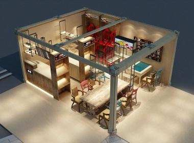 车咖创意咖啡馆——沐野设计