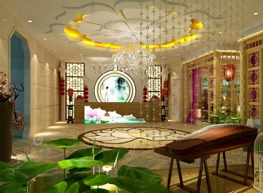 贵阳足浴会所装修设计效果图赏析|筑格装饰